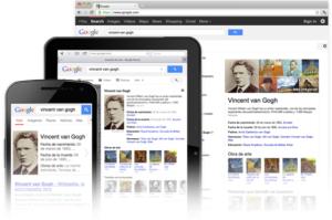 Ejemplo gráfico de conocimiento Google