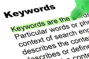 cómo buscar keywords