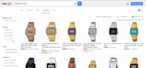 ejemplo reloj google