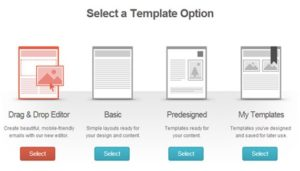select templat